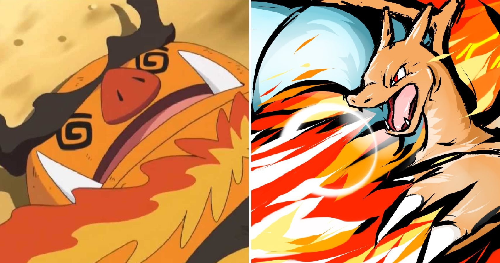 The Best And Worst Fire Type Pokémon Of All Time Thegamer