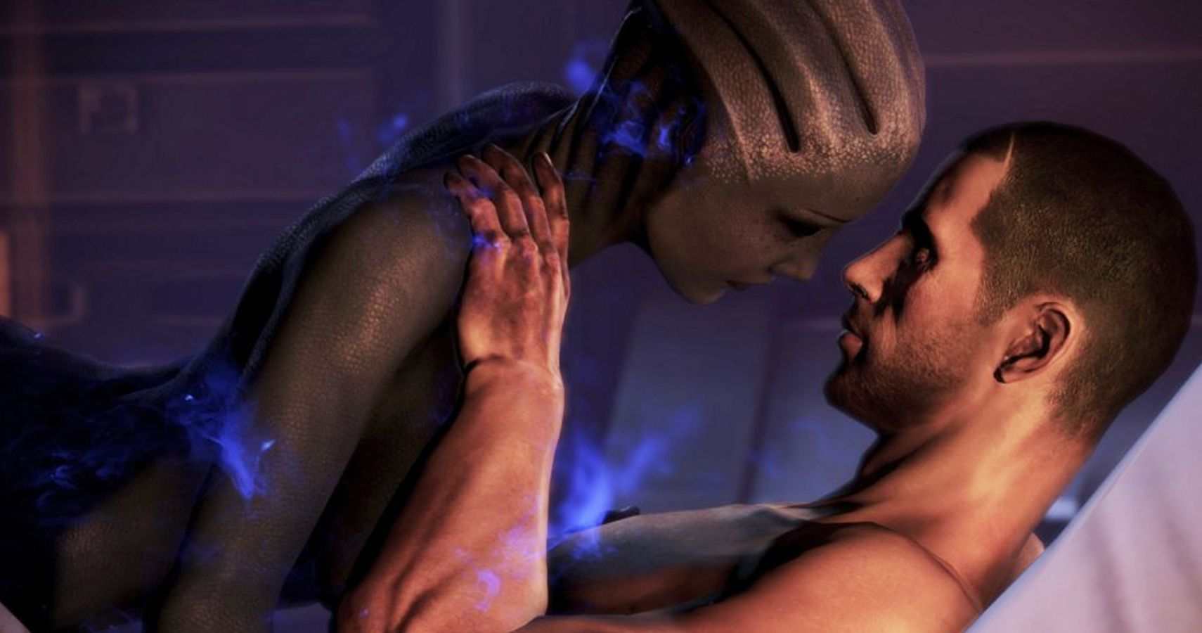 For mass effect miranda lawson pregnant with you