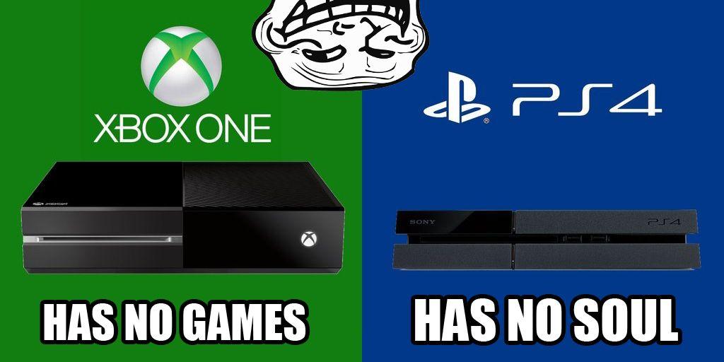 Playstation Vs Xbox Meme