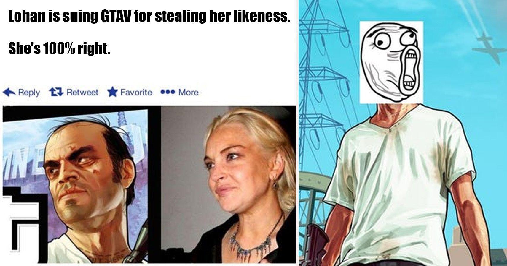 hilarious grand theft auto memes  crossed