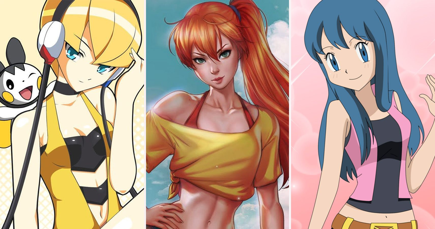 Pokémon characters 10 years later that make us drool