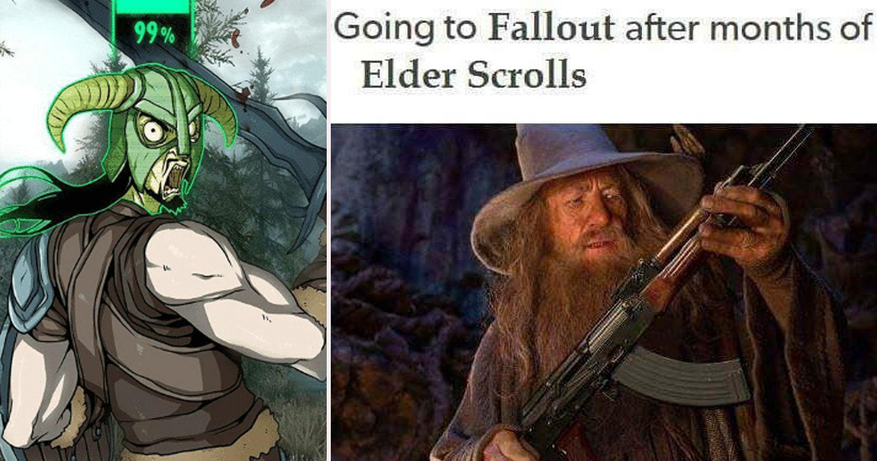 The Elder Scrolls by swackboy - Meme Center  Elder Scrolls Memes