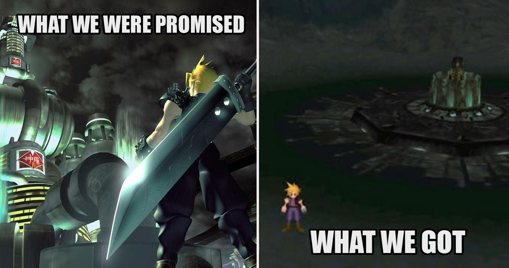 25 Hilarious Final Fantasy 7 Memes Only True Fans Will Understand