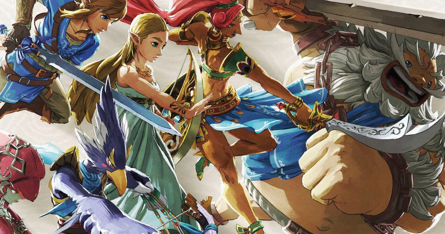Zelda Breath Of The Wild Getting Art Book In November