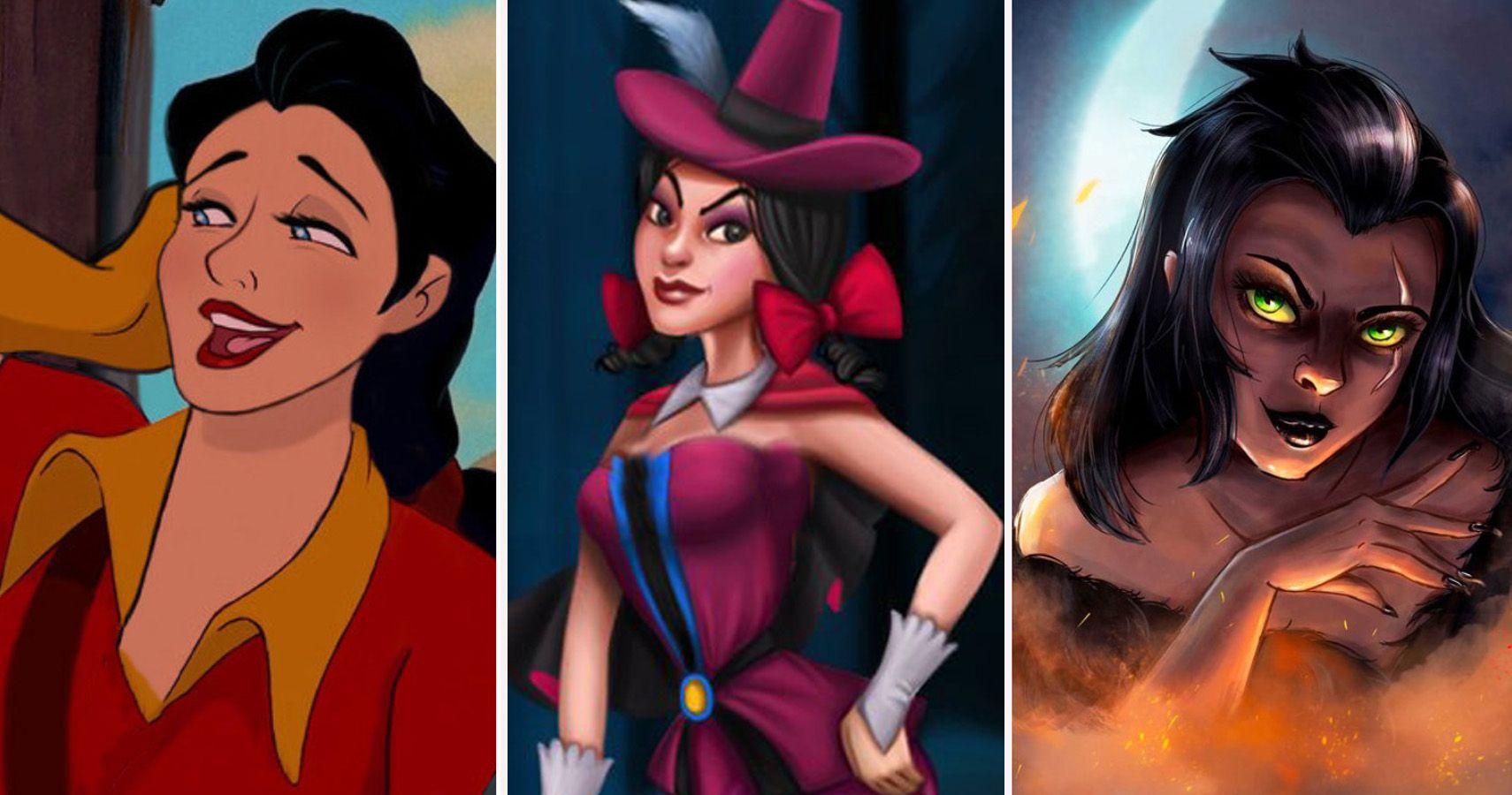 20 Disney Villains Reimagined As Girls Thegamer