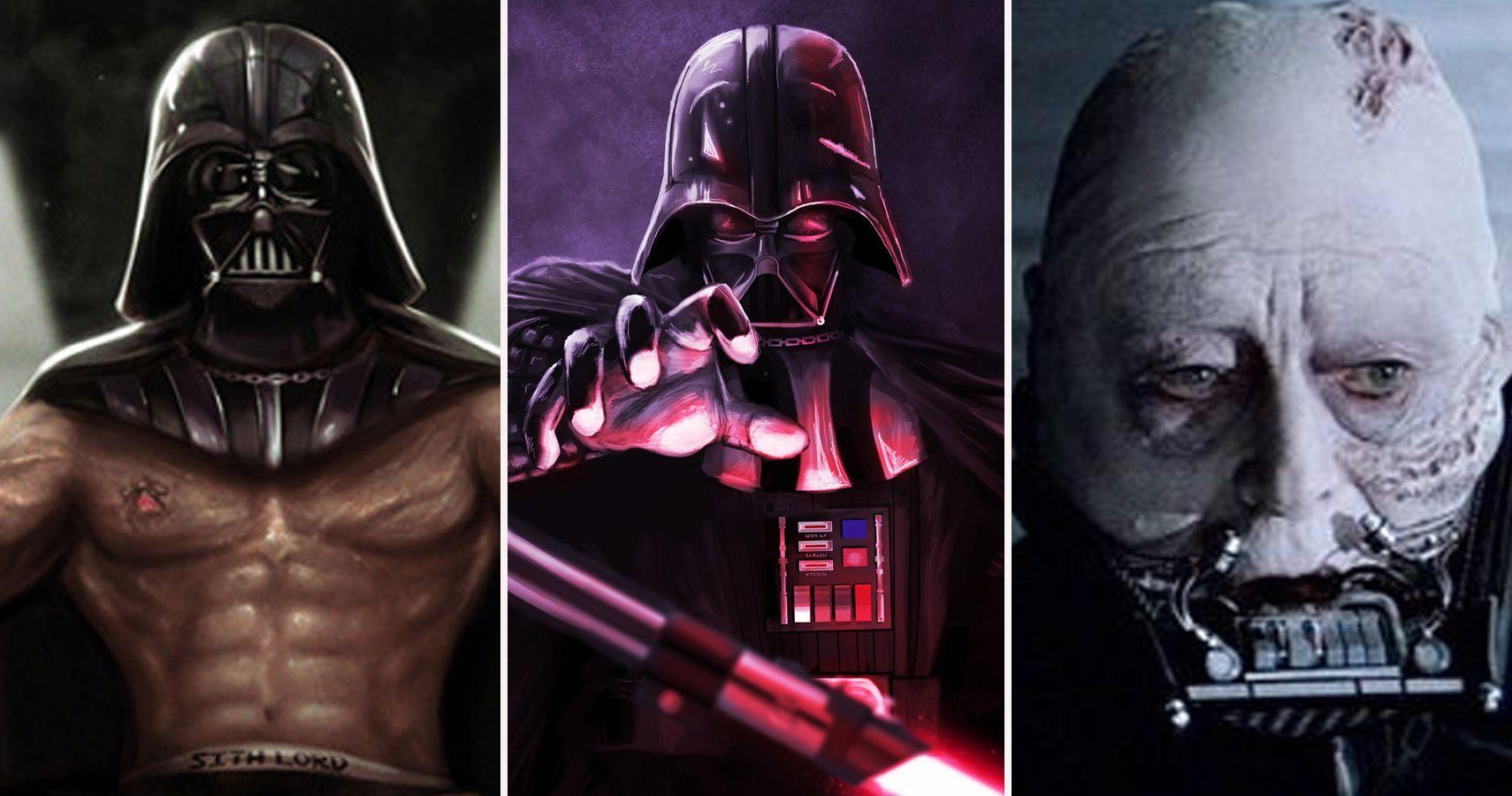 Darth Vader Fire Helmet Skin