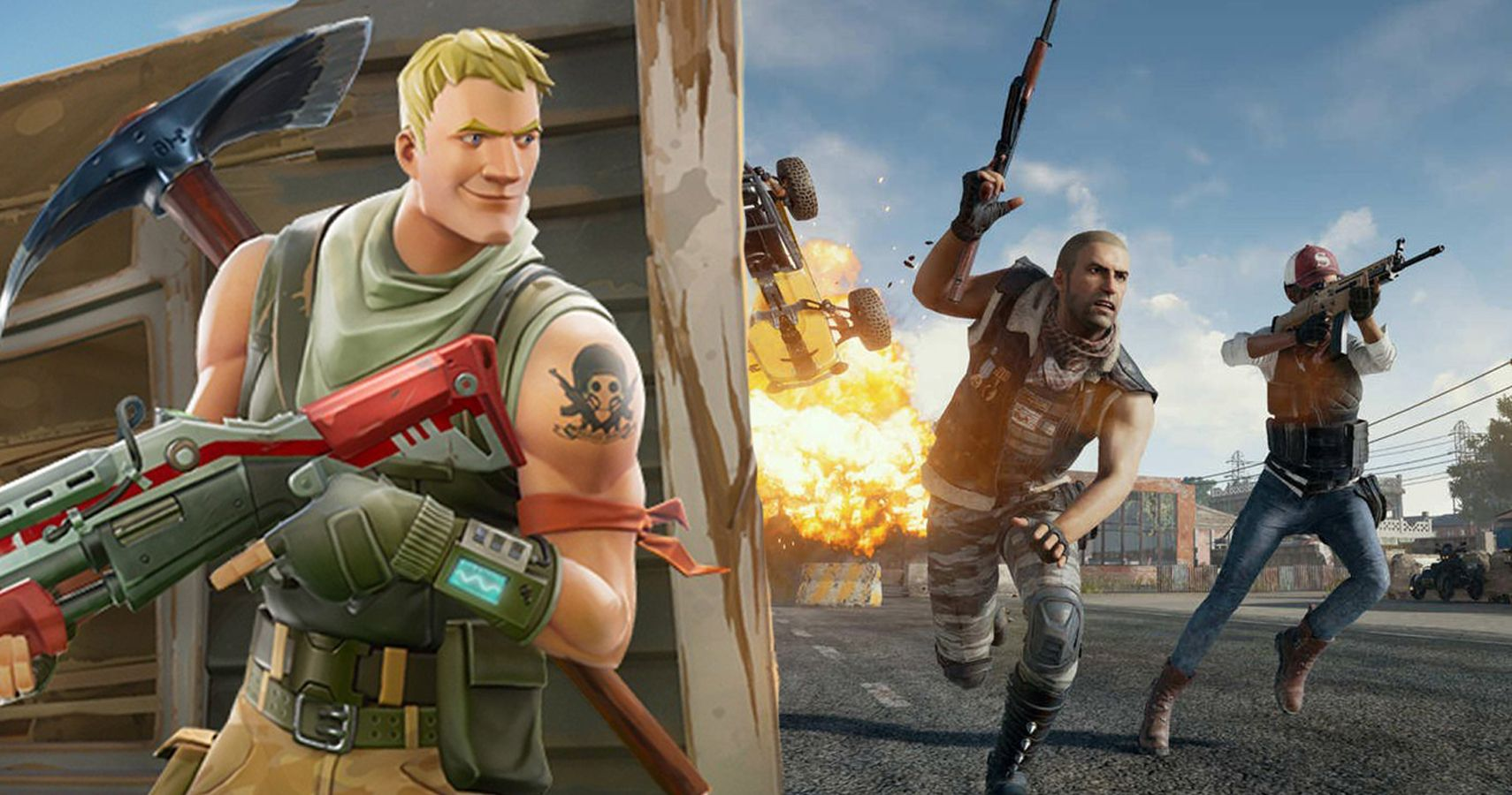 20 things fortnite ripped off of pubg and 10 things they do better