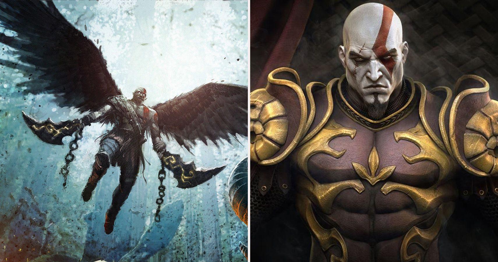 God Of War 25 Things That Make Kratos Too Strong Thegamer