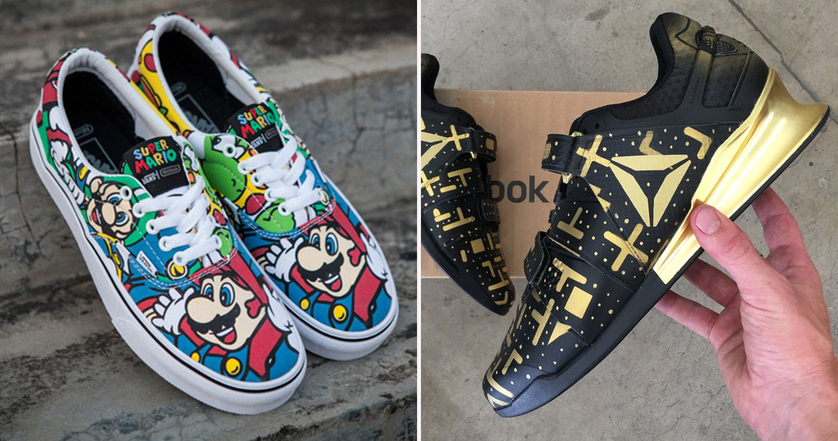 15 Crazy Video Game Shoes We Need And 15 That Are Just