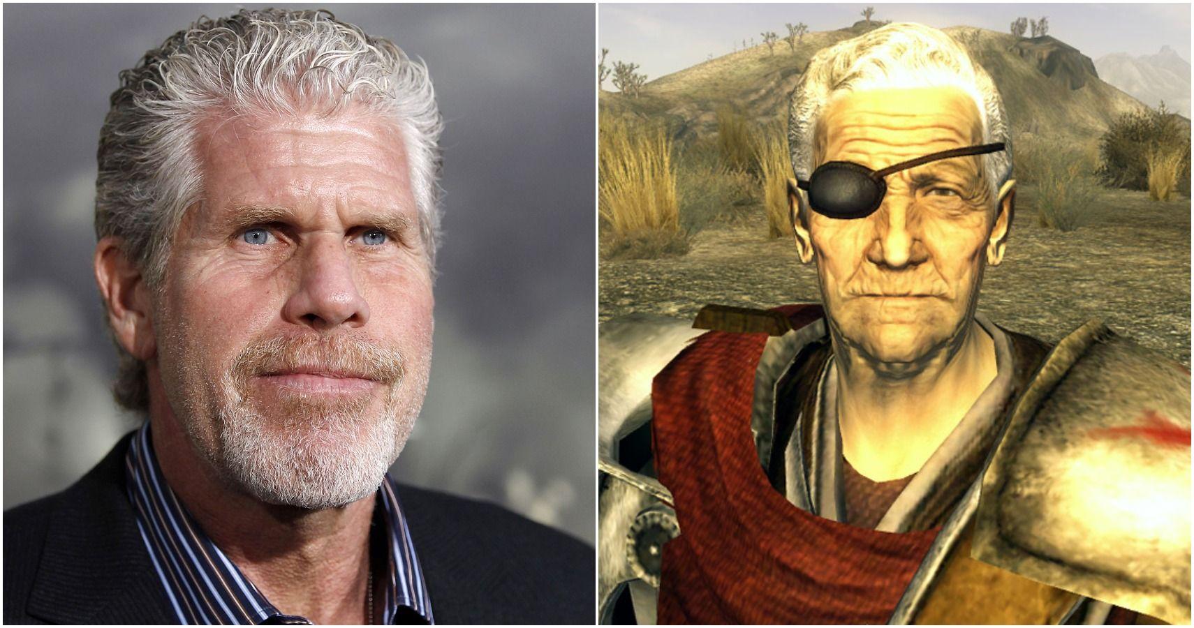Fallout: New Vegas Has A Ron Perlman 'Narrator' Character Model
