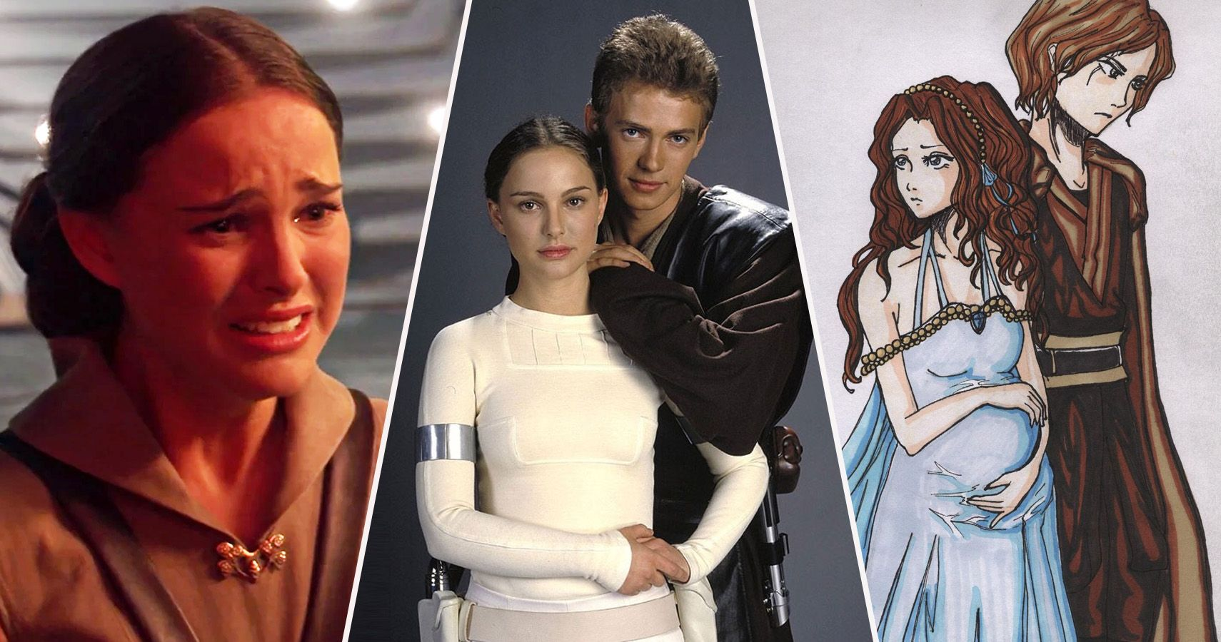 Star Wars 25 Ridiculous Things About Anakin And Padm 233 S