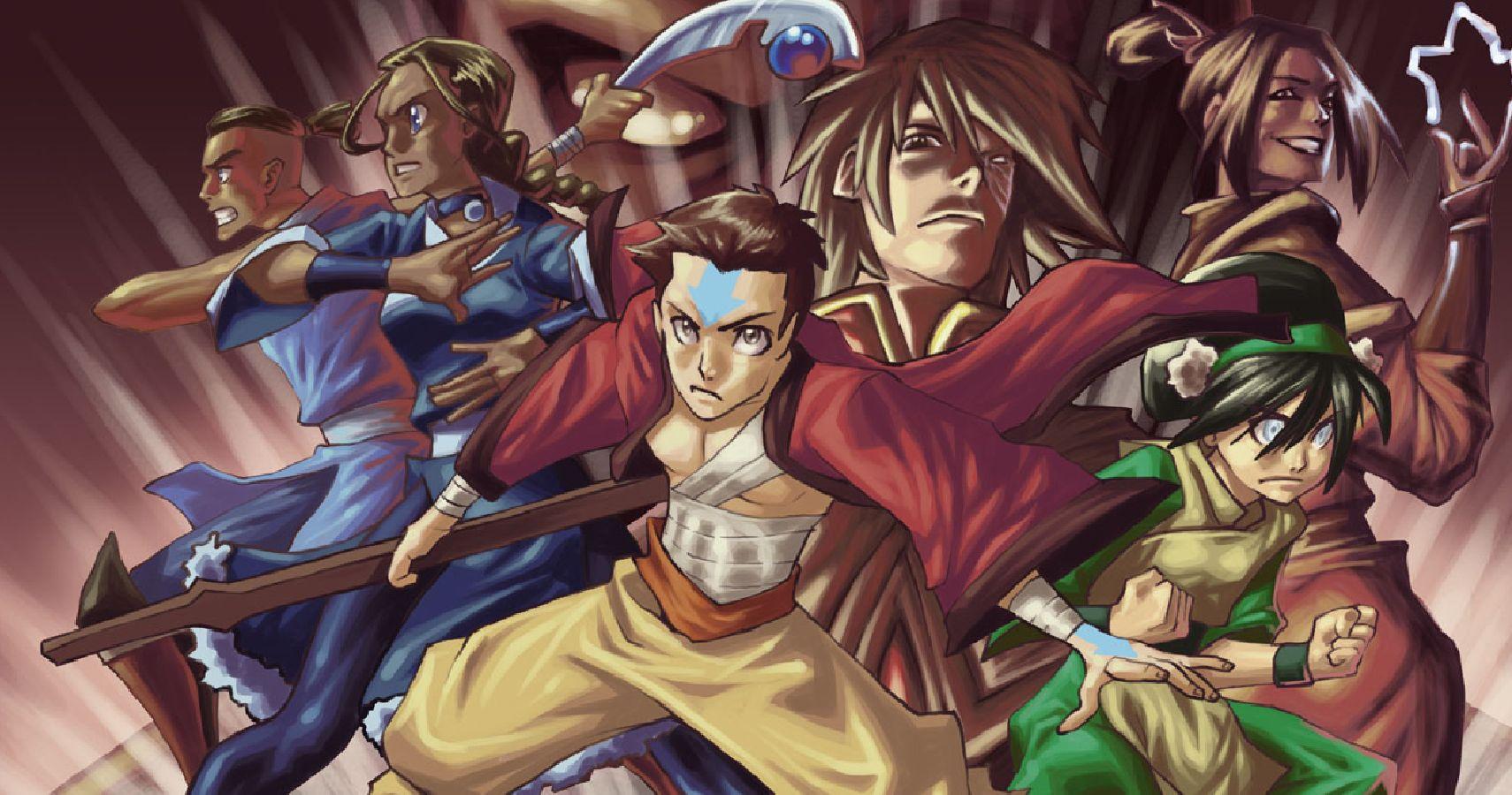 Avatar Aang Book 3