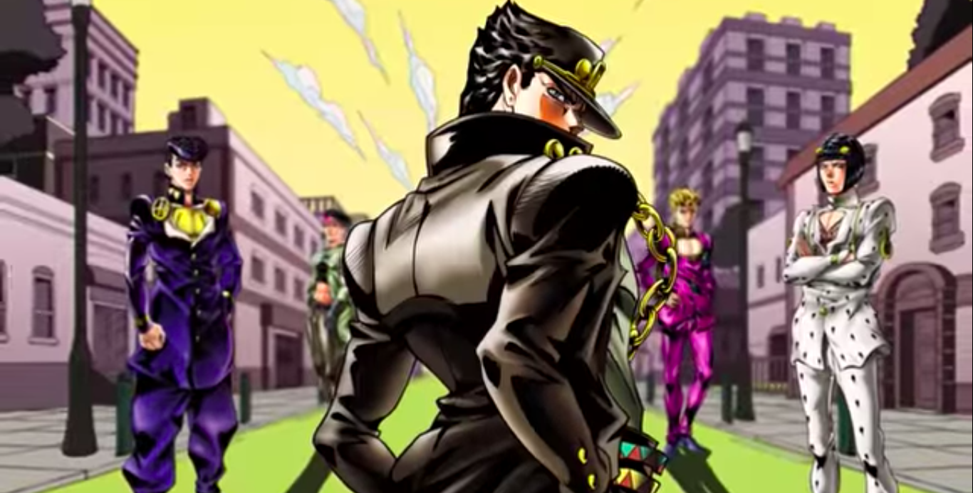Talk To Fortnite Challenger The Newest Fortnite Challenger Is A Jojo S Bizarre Adventure Battle Royale Game