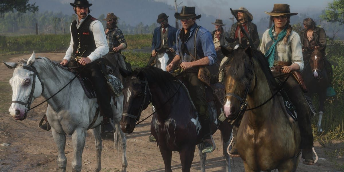 Red Dead Redemption 2 10 Best Horses Ranked Thegamer