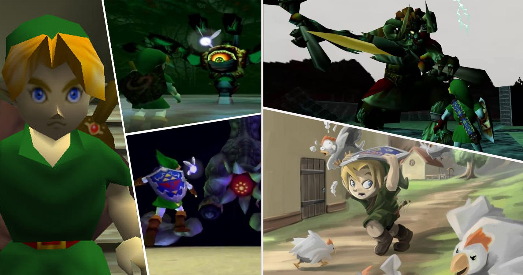 The Legend Of Zelda: 25 Ridiculous Mistakes In Ocarina Of