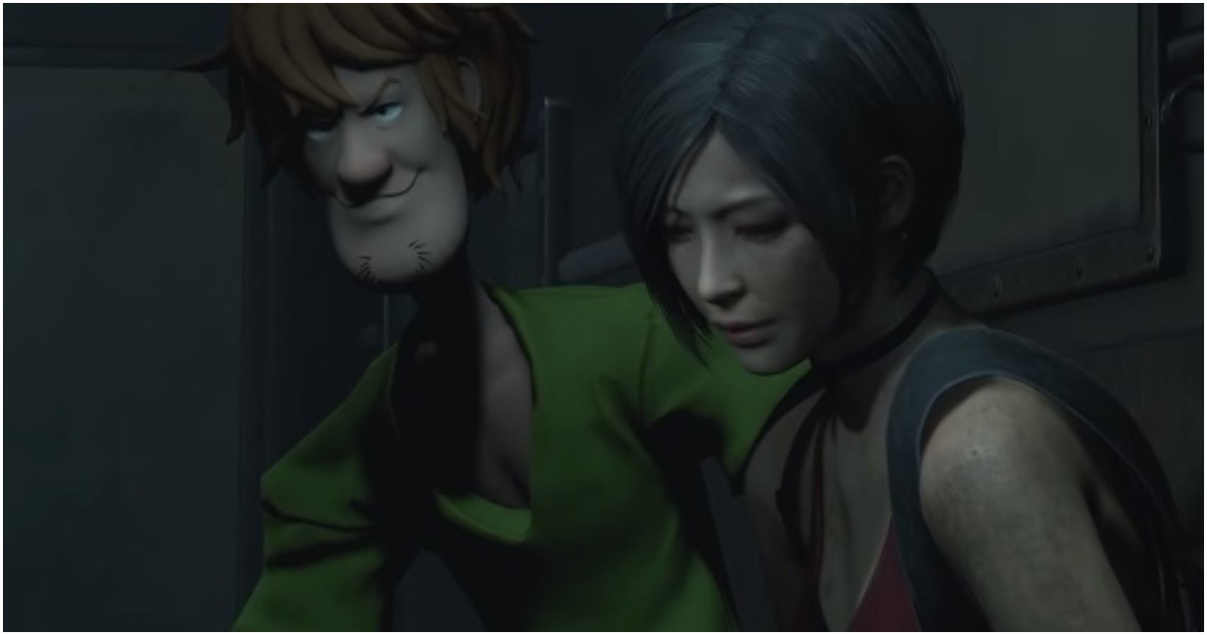 Resident Evil 2 Mod Sees Shaggy Take On 10 Mr  Xs | TheGamer