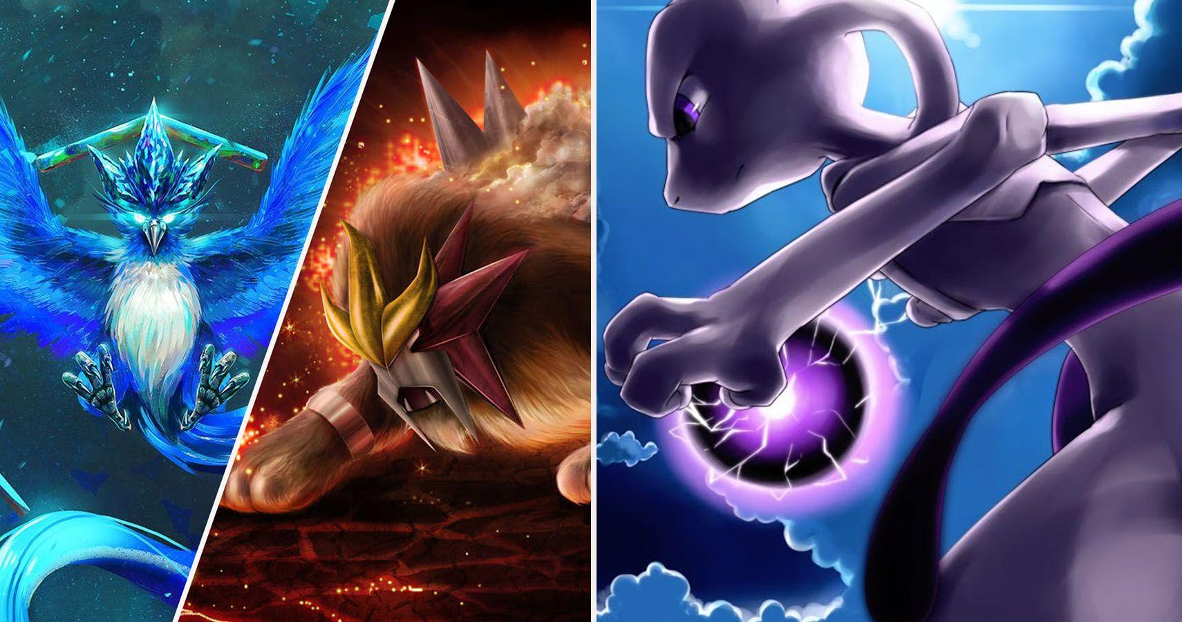 Pokémon Every Legendary From Weakest To Most Powerful