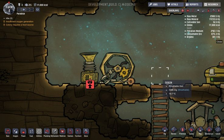 Oxygen Not Included Good Seeds 2019