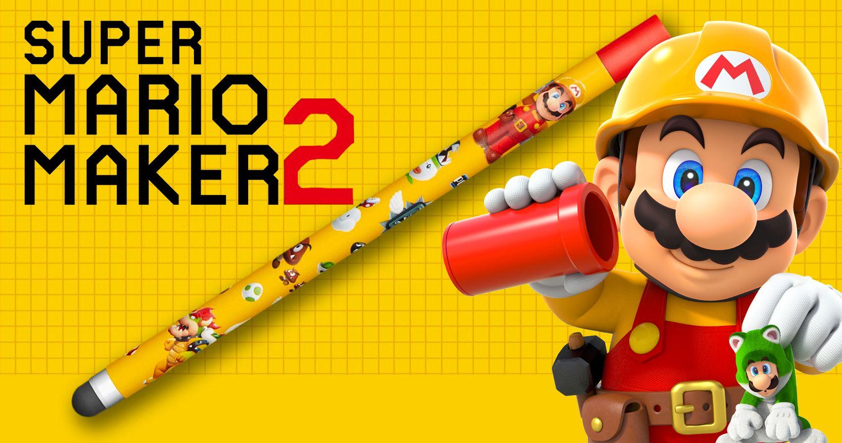 Super Mario Maker 2 Pre-Order Includes Stylus, Suggesting More