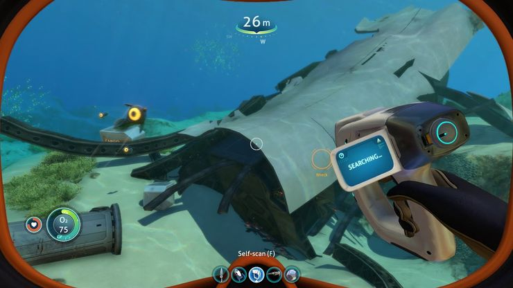 Ar1efuuogbzrcm The scanner room is a seabase module. https www thegamer com subnautica best wrecks early game