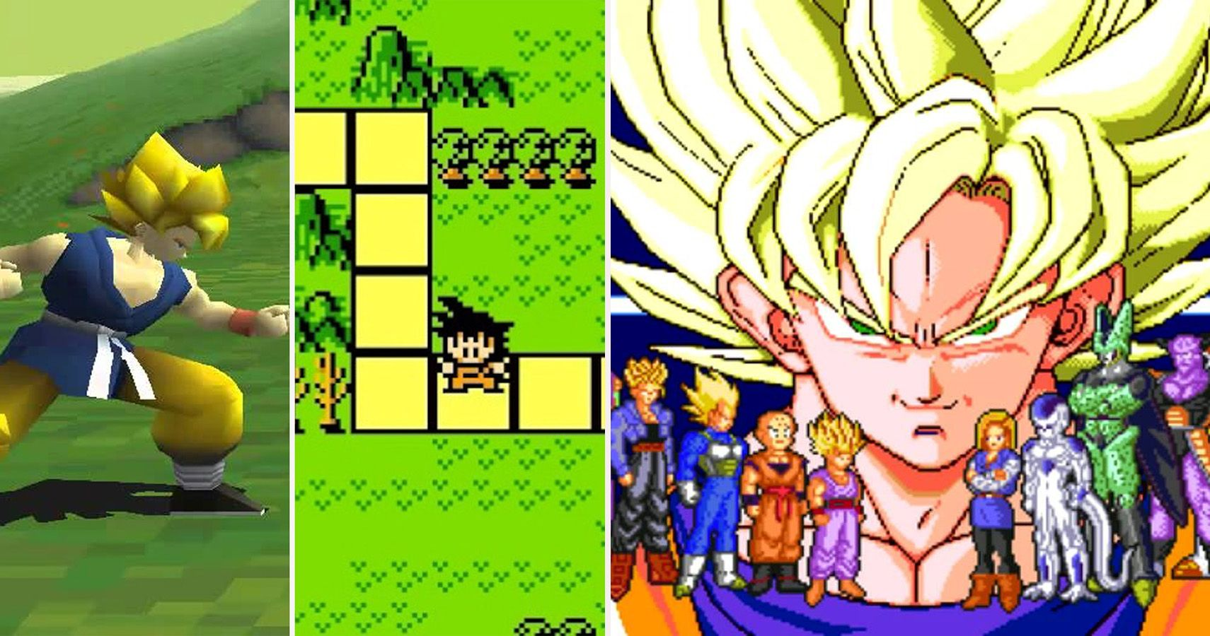 25 Classic 90s Dragon Ball Z Games That Only Super Fans Knew About