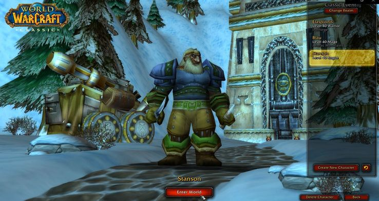 Warrior professions classic wow