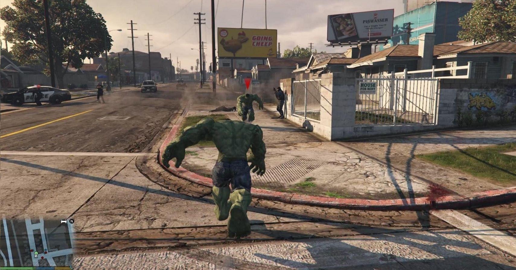 Ranking The 10 Best Grand Theft Auto V Mods   TheGamer