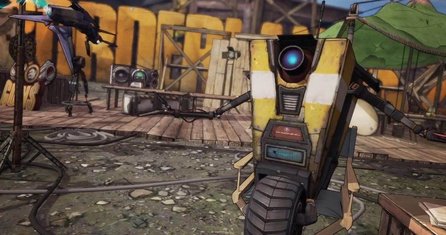 Gearbox Might Be Making Fun Of Claptrap's Old Voice Actor In New
