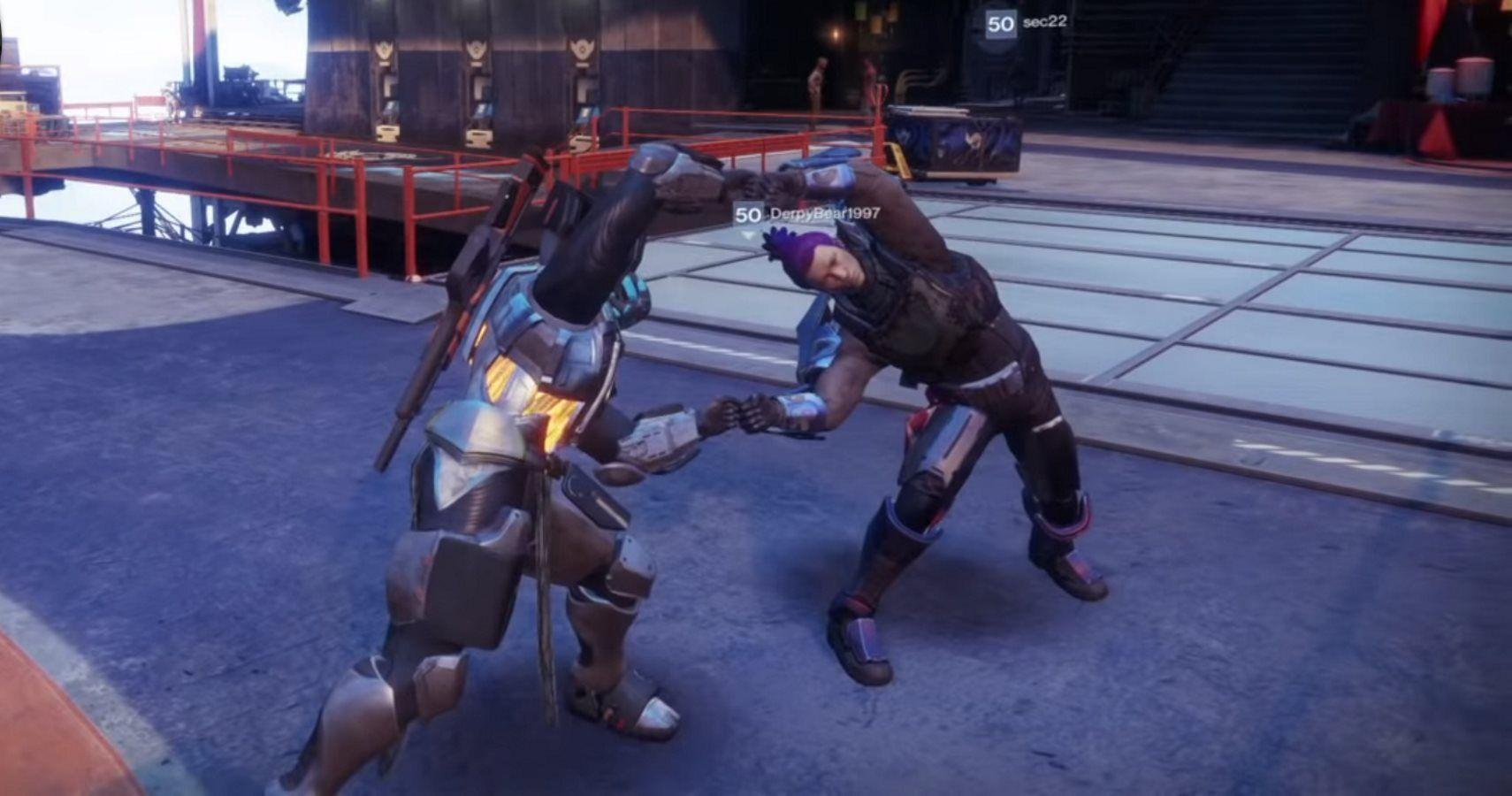 Destiny Dance Gif: Destiny 2 Meets Dragon Ball Z With New Fusion Emote