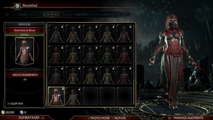 Mortal Kombat 11 Kombat League Season 1: Every Reward, Skin