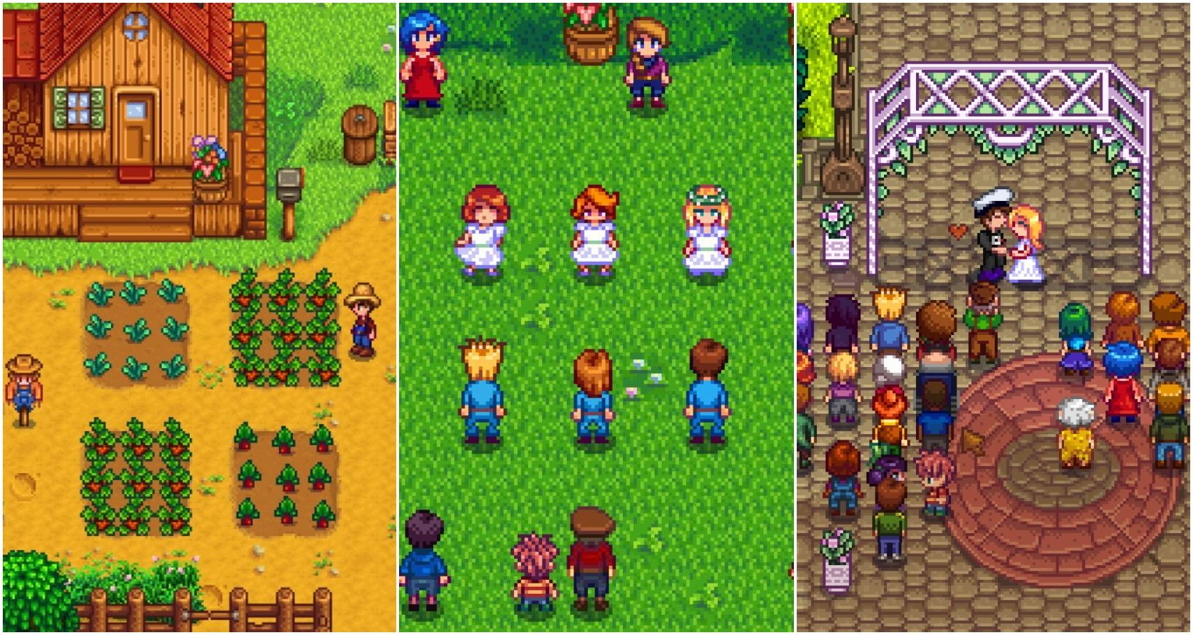 Stardew Valley: All The Marriage Options Ranked From Worst