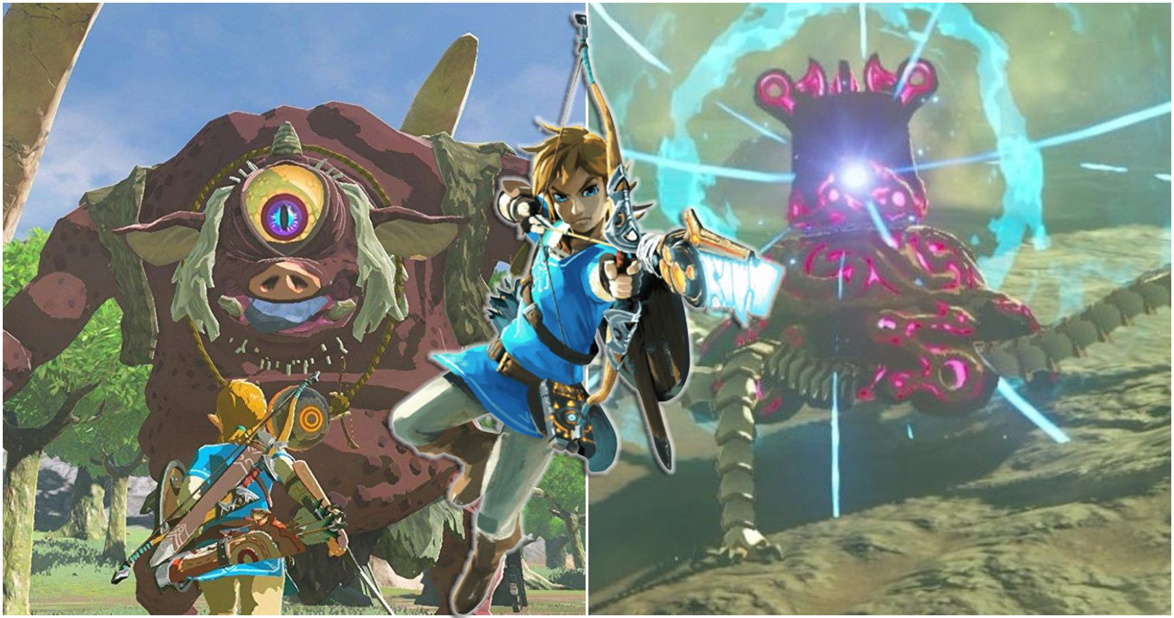 The Legend Of Zelda The Toughest Monsters In Breath Of The Wild Ranked