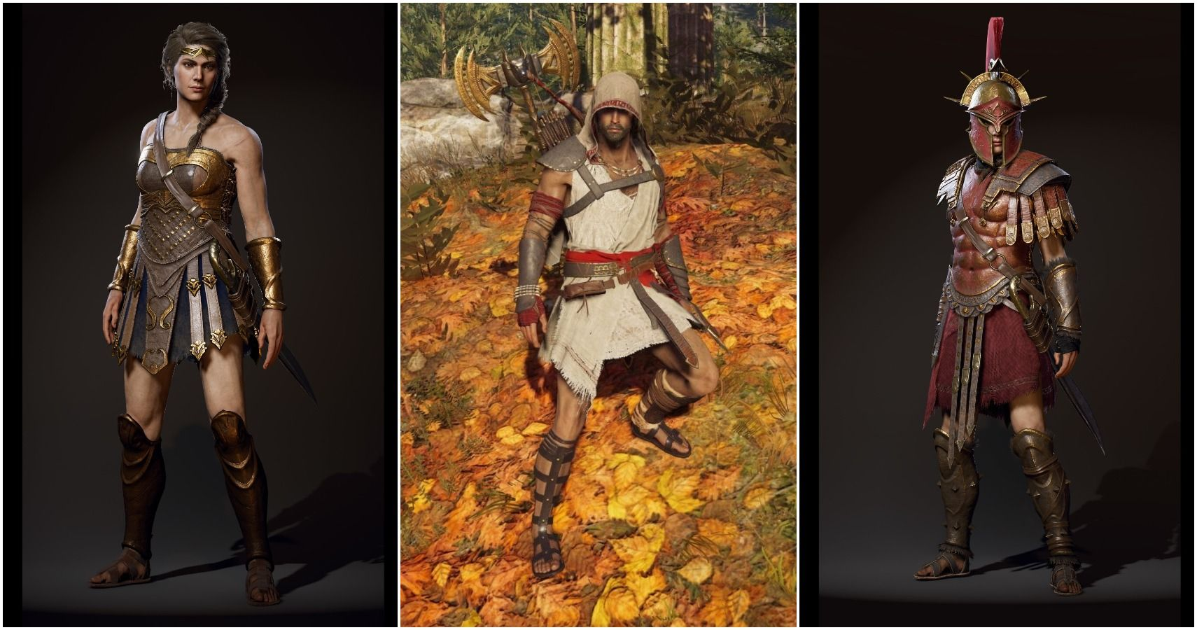 assassins creed odyssey best looking armor kassandra