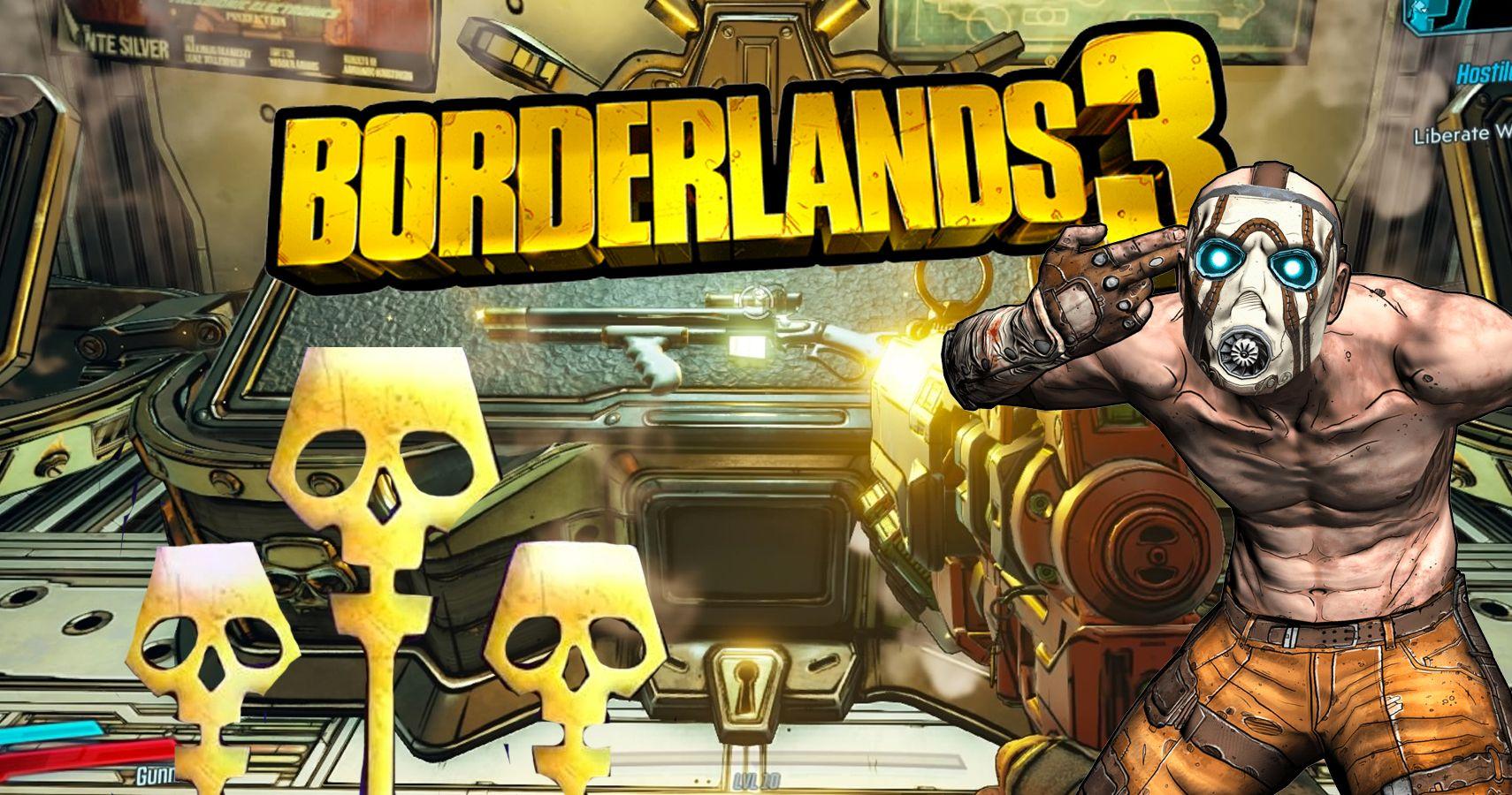 Golden Keys Borderlands 3