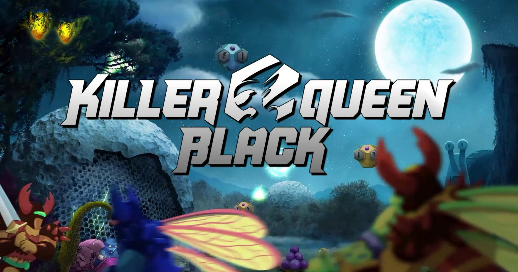 Rare And Amazing Arcade Game 'Killer Queen' Gets October