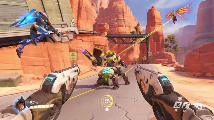 Overwatch Will Run At 30 FPS On The Switch | TheGamer