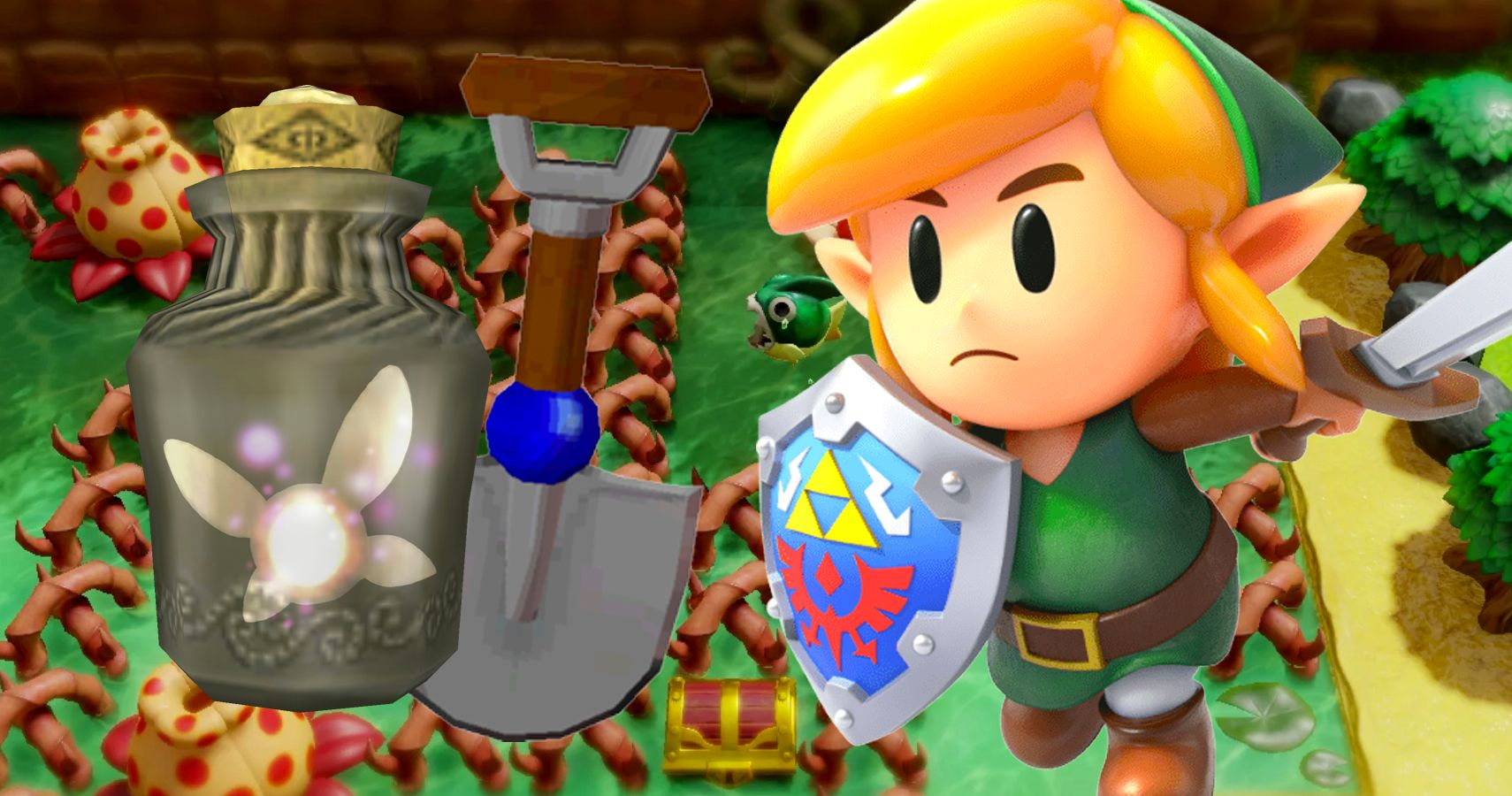 Link S Awakening The Items You Should Always Have Available