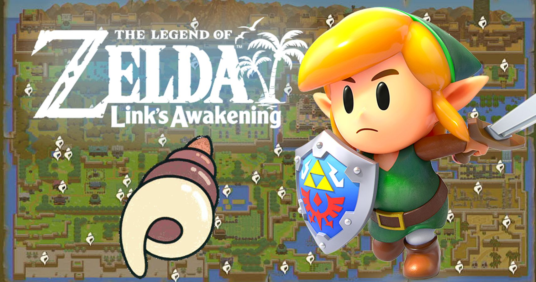 Link S Awakening Where To Find The Toughest Seashells And
