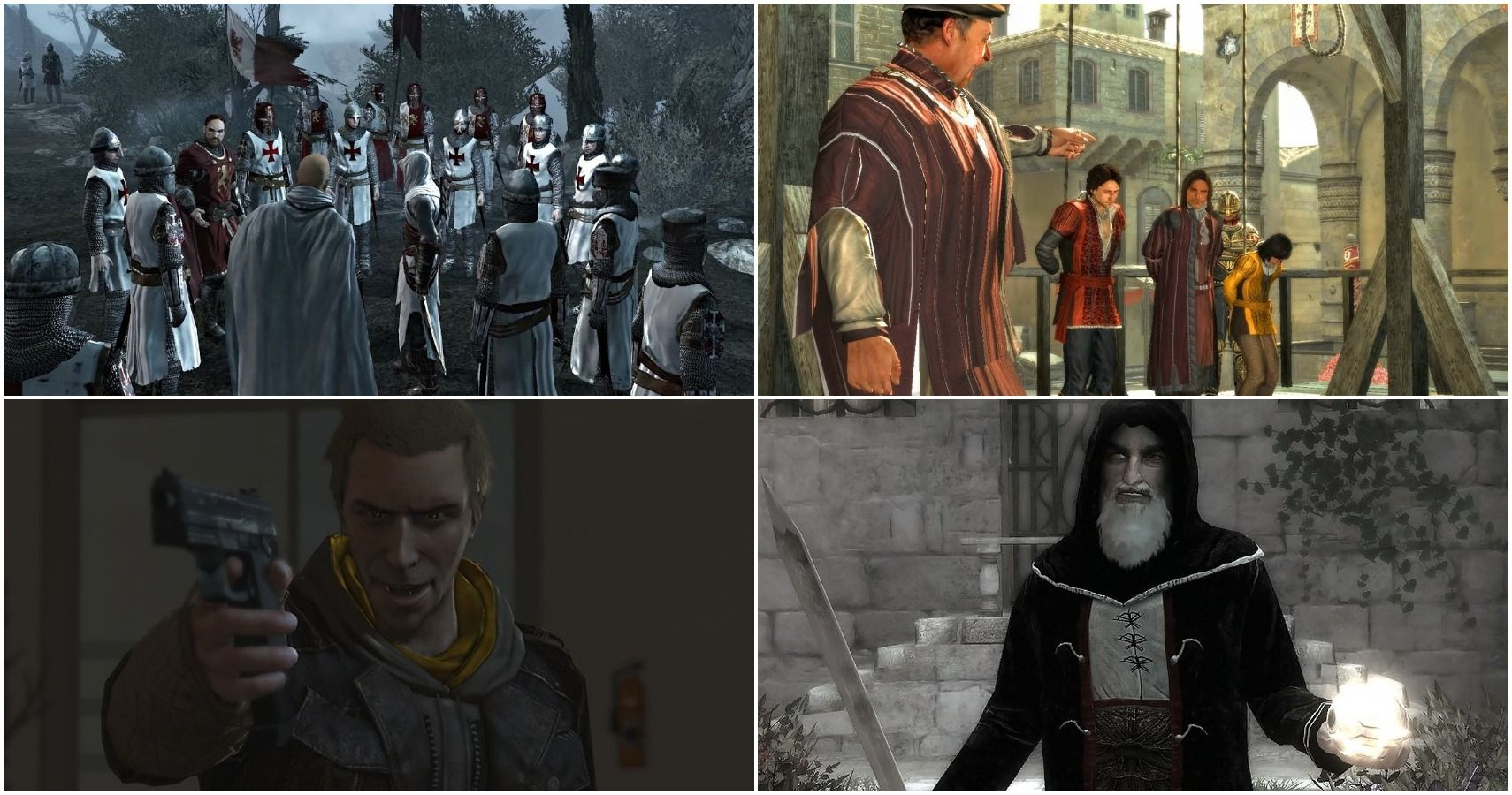 Assassin S Creed 10 Worst Things Done By The Templars Ranked