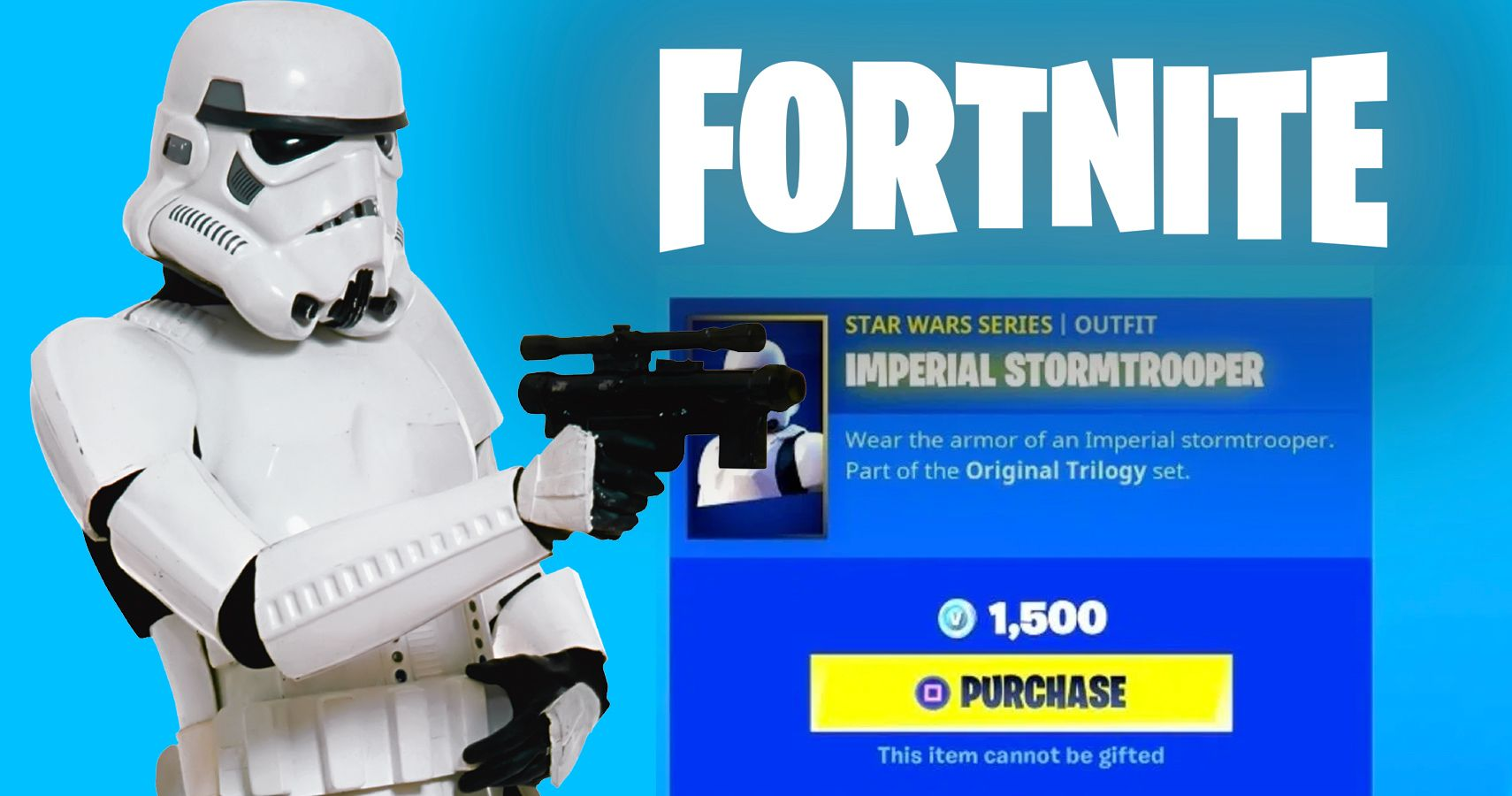 Miss All Your Shots With This Stormtrooper Fortnite Skin