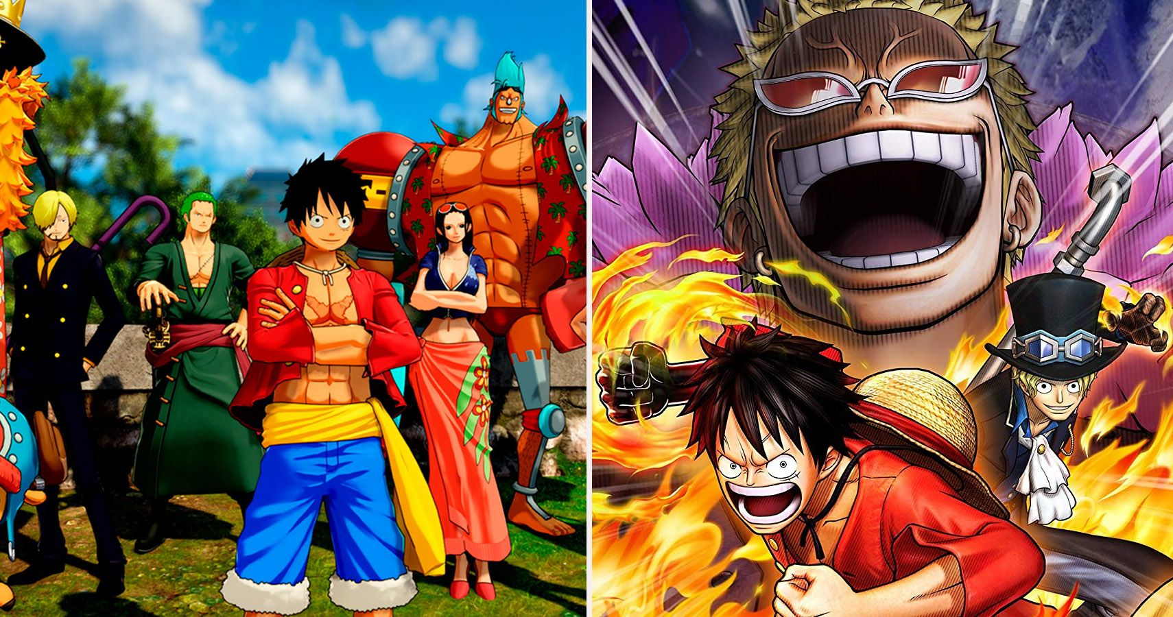 One Piece The 10 Best Games Based On The Anime Ranked