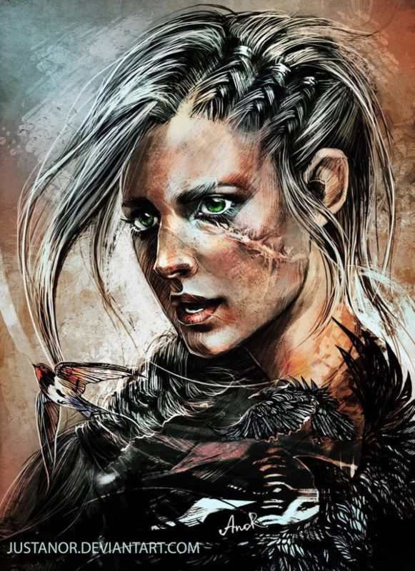 The Best Ciri Witcher 3 Fan Art JPG