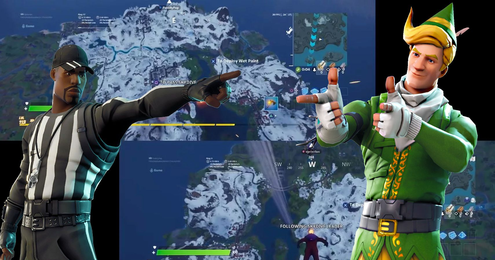 How To Use Fortnite's New Splitscreen Feature | TheGamer