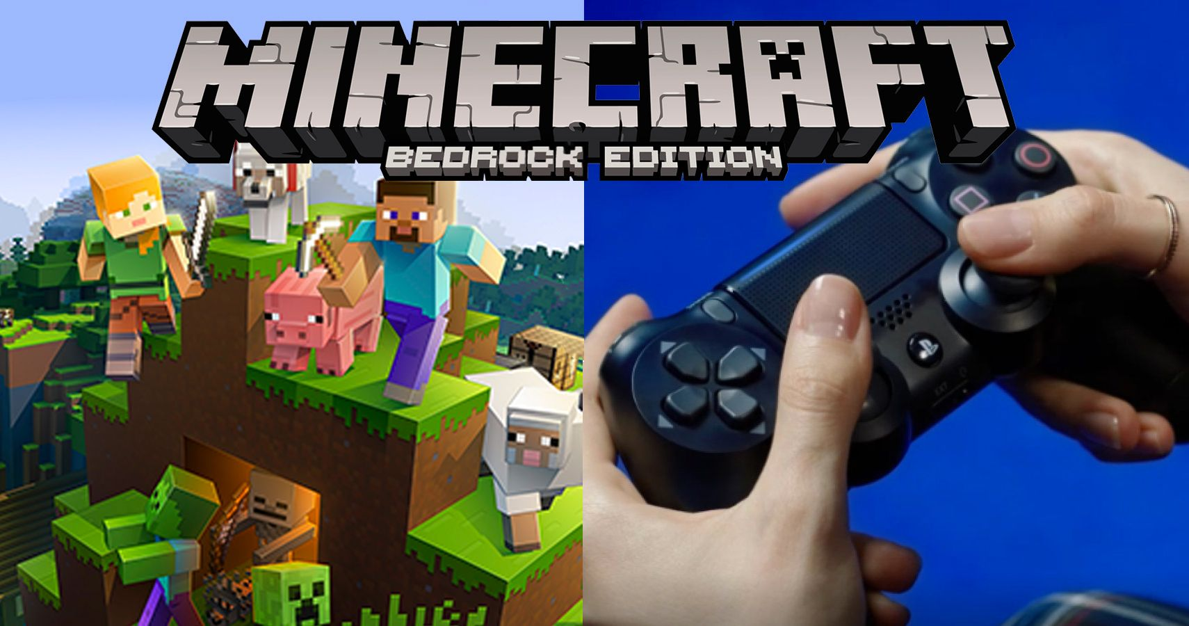 Minecraft Bedrock Version Is Coming To Ps4 Tomorrow With