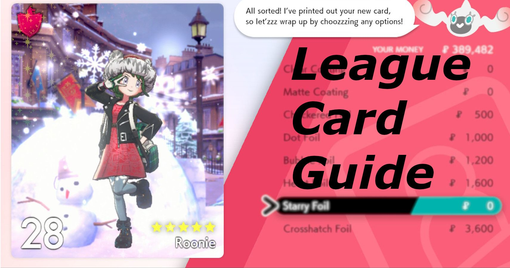 Pokémon Sword & Shield: What Are League Cards And What Do They Do?