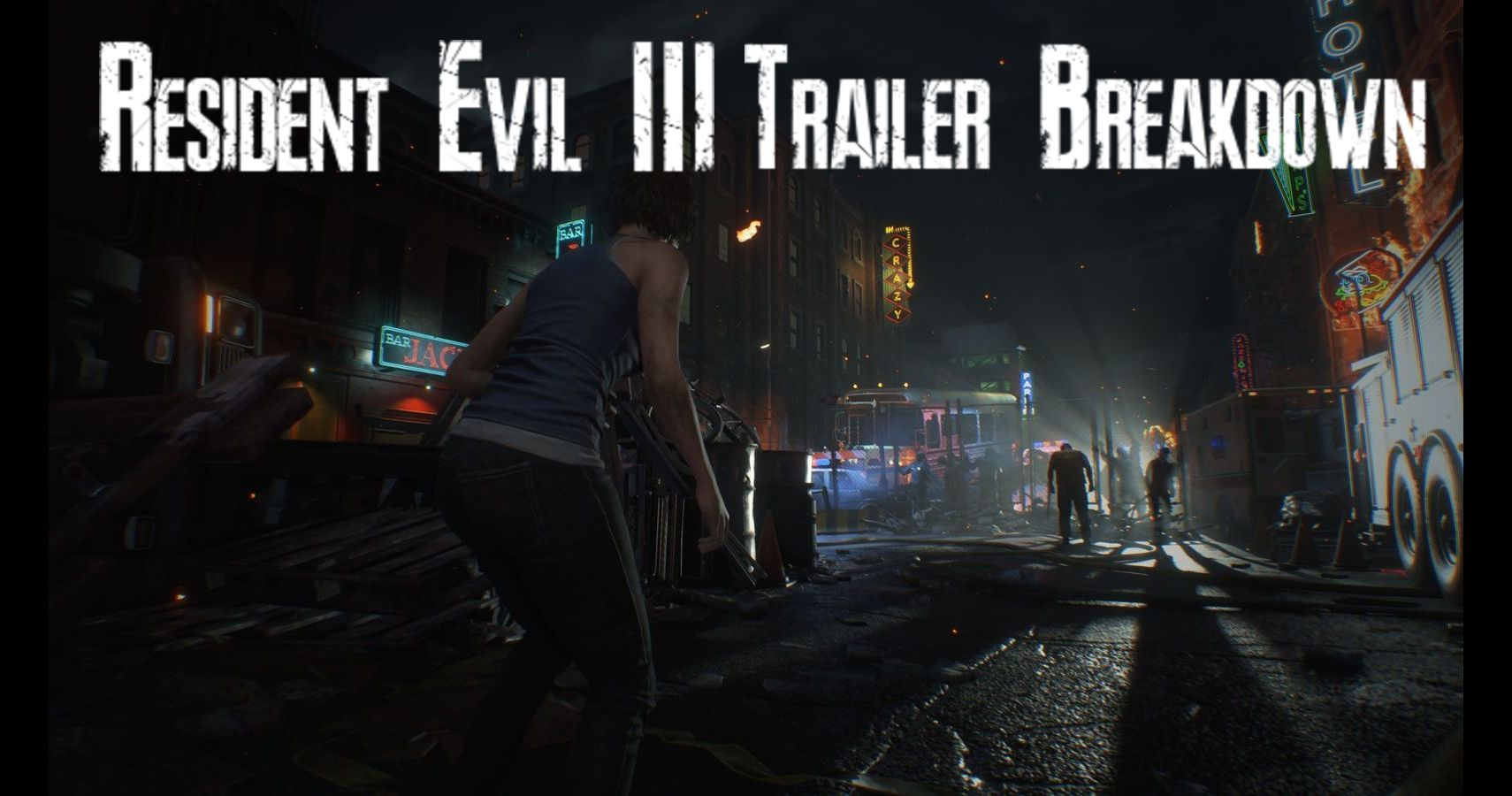 Resident Evil 3 Trailer Breakdown Thegamer