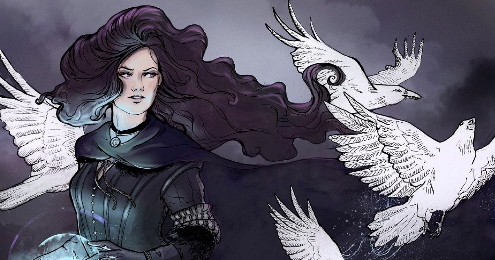 The Witcher 10 Beautiful Pieces Of Yennefer Fan Art Thegamer