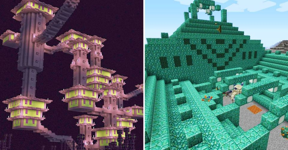 Minecraft All The Rarest Blocks Where To Find Them Thegamer Take a look at this demo. minecraft all the rarest blocks