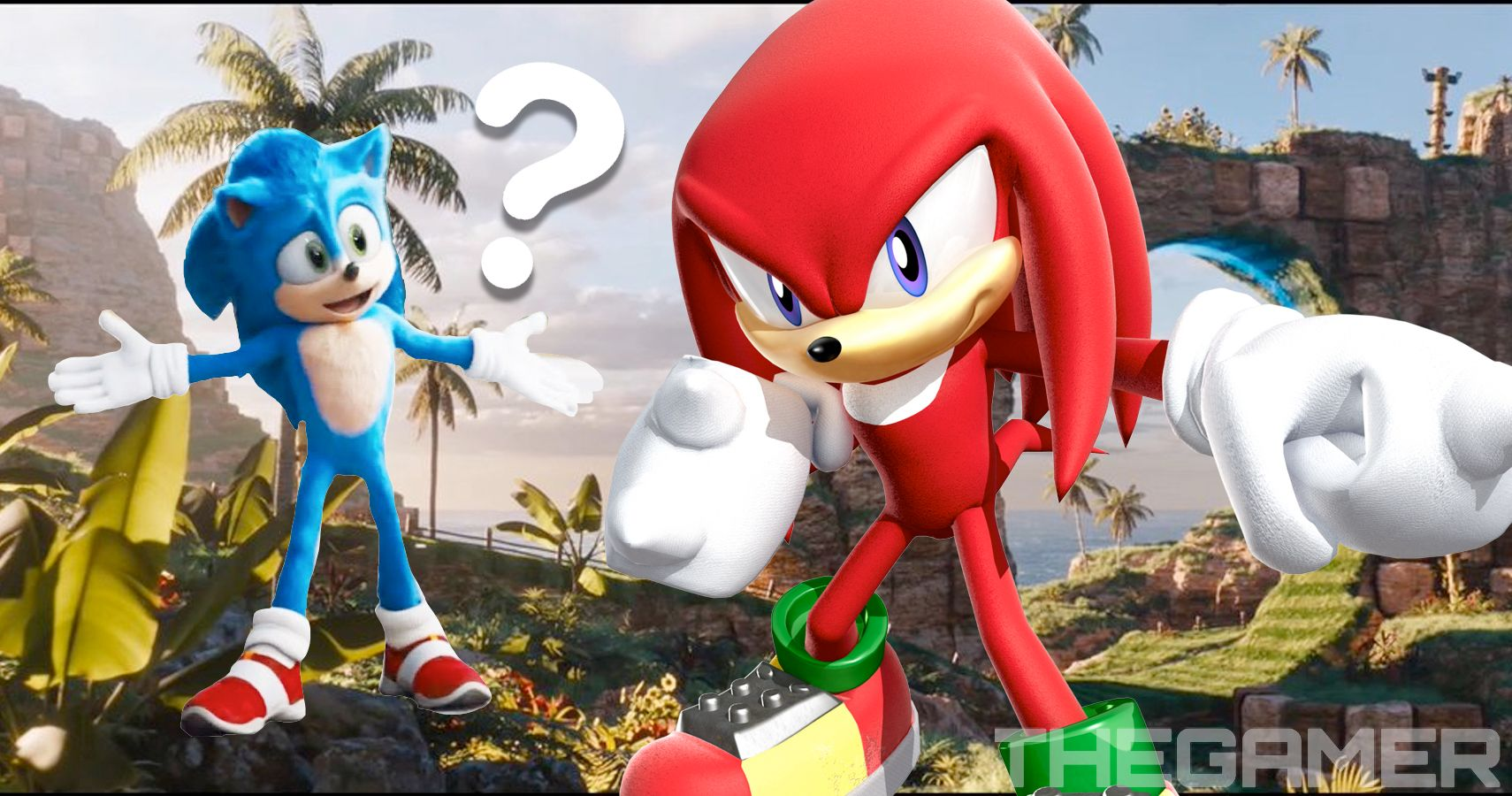 Wait Was That Knuckles In The Sonic Movie Thegamer