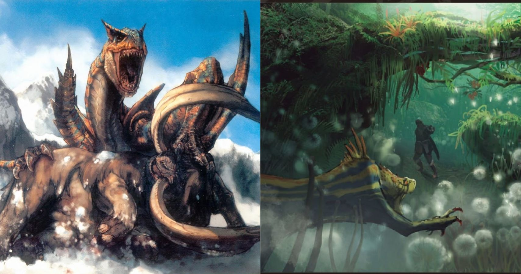 female monster hunter armor concept art